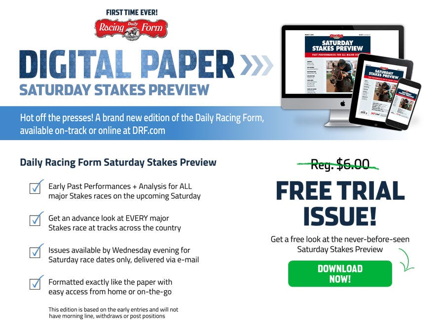 Digital Paper | Daily Racing Form