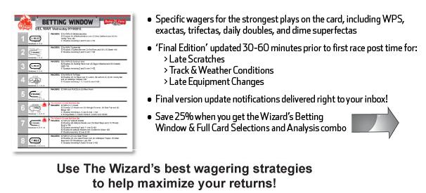 Wizard betting window betting australia